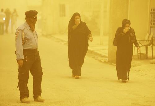 Baghdad dust storm - AP