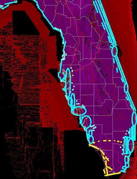 Elevation Map Of Florida.Collapse Mechanisms Edro